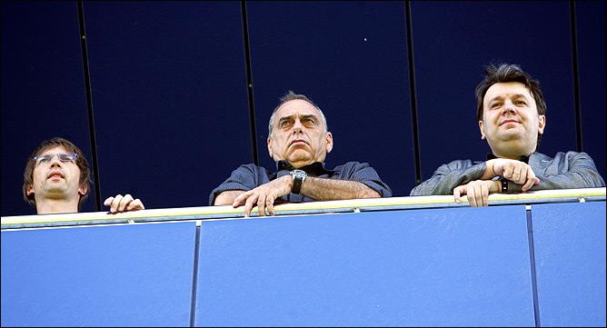 Авраам Грант (в центре), Герман Ткаченко (справа)