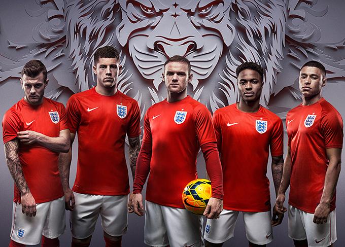 Какую форму для футболистов англии