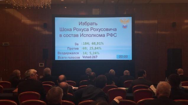 Рохус Шок избран висполком РФС