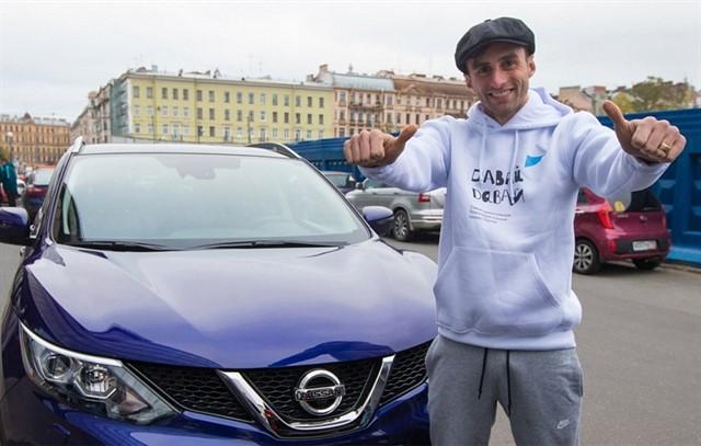 Игрок «Зенита» Маурисио поработал таксистом