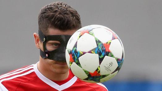 Левандовский роберт маска