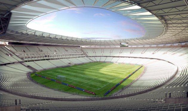 В Бразилии открыт первый стадион чемпионата мира — 2014