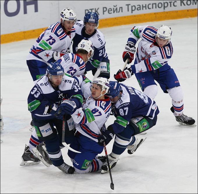 """""""ДИНАМО"""" МОСКВА — СКА. 45 ФОТО"""