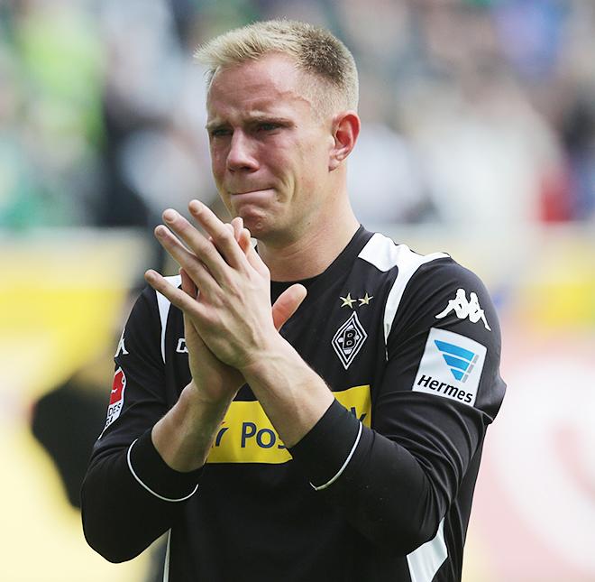 Тер Штеген не сдержал слёз, прощаясь с мёнхенгладбахскими болельщиками