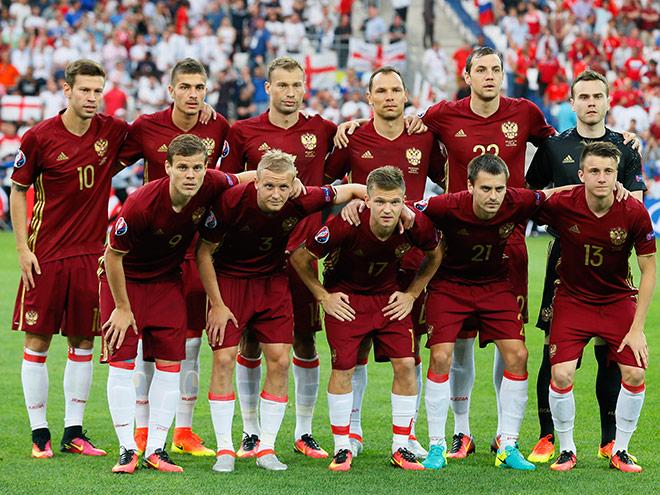 Фоторепортаж с матча Англия — Россия