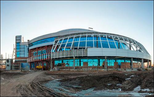 """Строительство """"Лада-Арены"""" обещают закончить к середине мая 2013 года"""