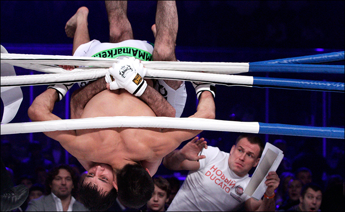 Фотогалерея: Мгновения года. MMA (57 фото)