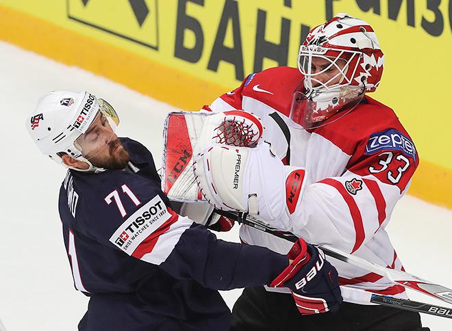 Сборная Канады вышла в финал чемпионата мира, обыграв США