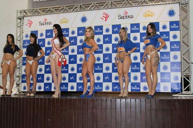 Бразильский клуб «Крузейро» представил коллекцию женского нижнего белья