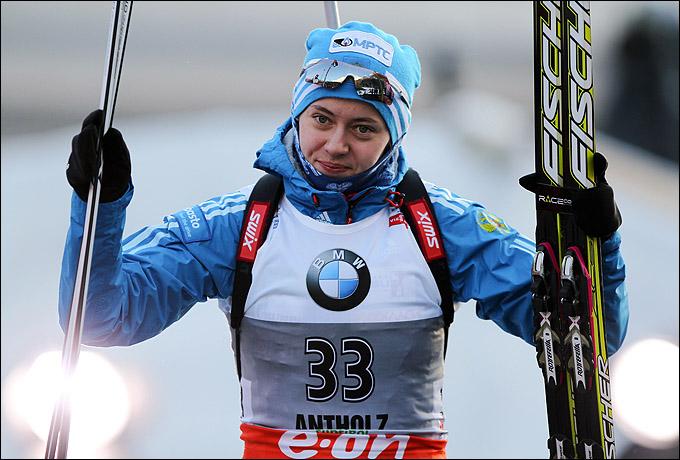 Биатлон. Онлайн-трансляция женской гонки преследования на 10 км начнётся в 14:45