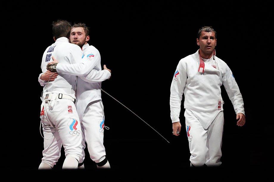 Сборная России по фехтованию в финале Олимпиады-2020