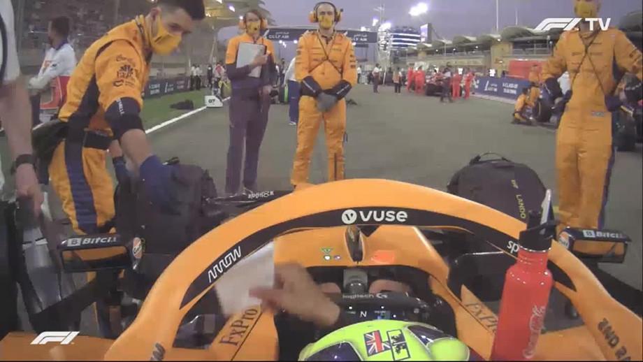 Что написано в записках «Макларена» для Даниэля Риккардо перед стартом Гран-при Бахрейна Формулы-1