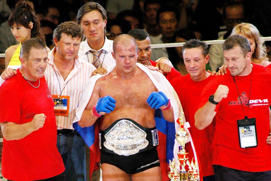 От великого чемпиона до великого тренера. Фёдор Емельяненко строит своё наследие