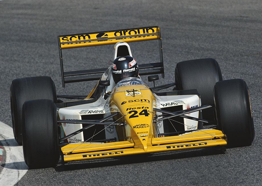 Предпоследний Гран-при Паоло Бариллы в Формуле-1