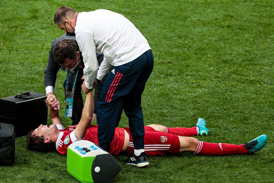 На Евро массово травмируются игроки. 43 случая в 48 матчах