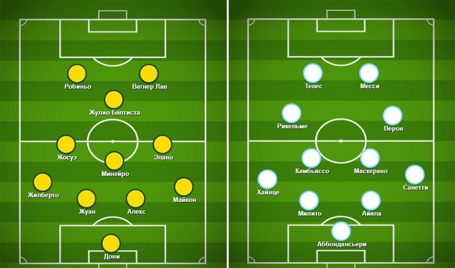 В 2007-м Бразилия вынесла мощную Аргентину в Кубке Америки. «Наш» Вагнер тоже отметился