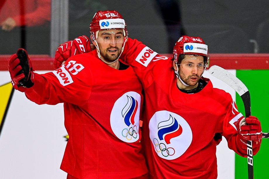 ЧМ по хоккею — 2021, интервью с капитаном сборной России Антоном Слепышевым