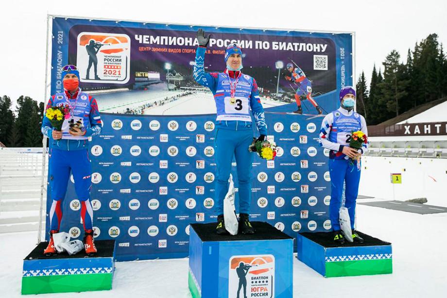 Максим Цветков отдал свою медаль чемпионата России по биатлону дисквалифицированному Семёну Сучилову – что случилось?