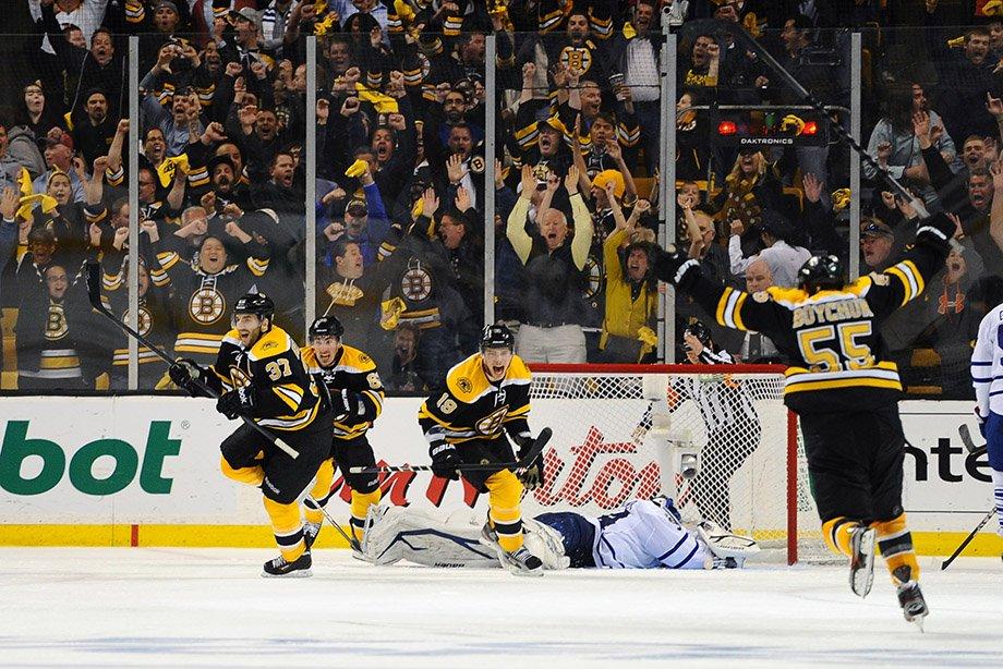 Победный камбэк «Бостона» в седьмом матче серии плей-офф с «Торонто» в 2013 году, голы, видео, обзор решающего матча