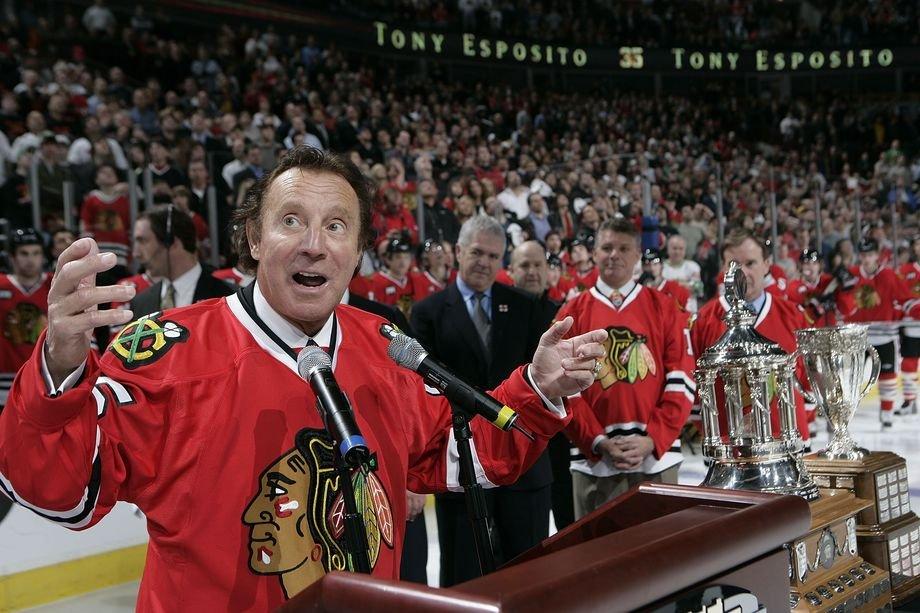 Карьера Тони Эспозито, достижения, игра за «Чикаго» и сборную Канады, Суперсерия-72