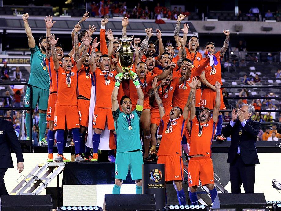 Сборная Чили — победитель турнира 2016 года