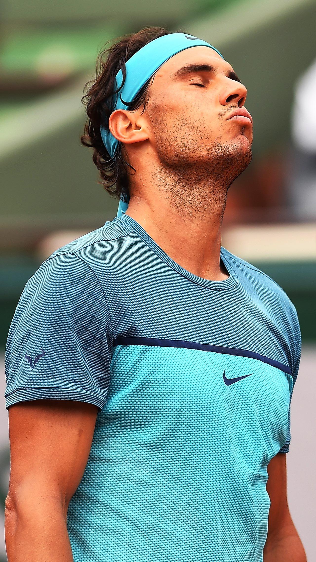В 2016 году Надаль из-за травмы не вышел на матч 3-го круга.