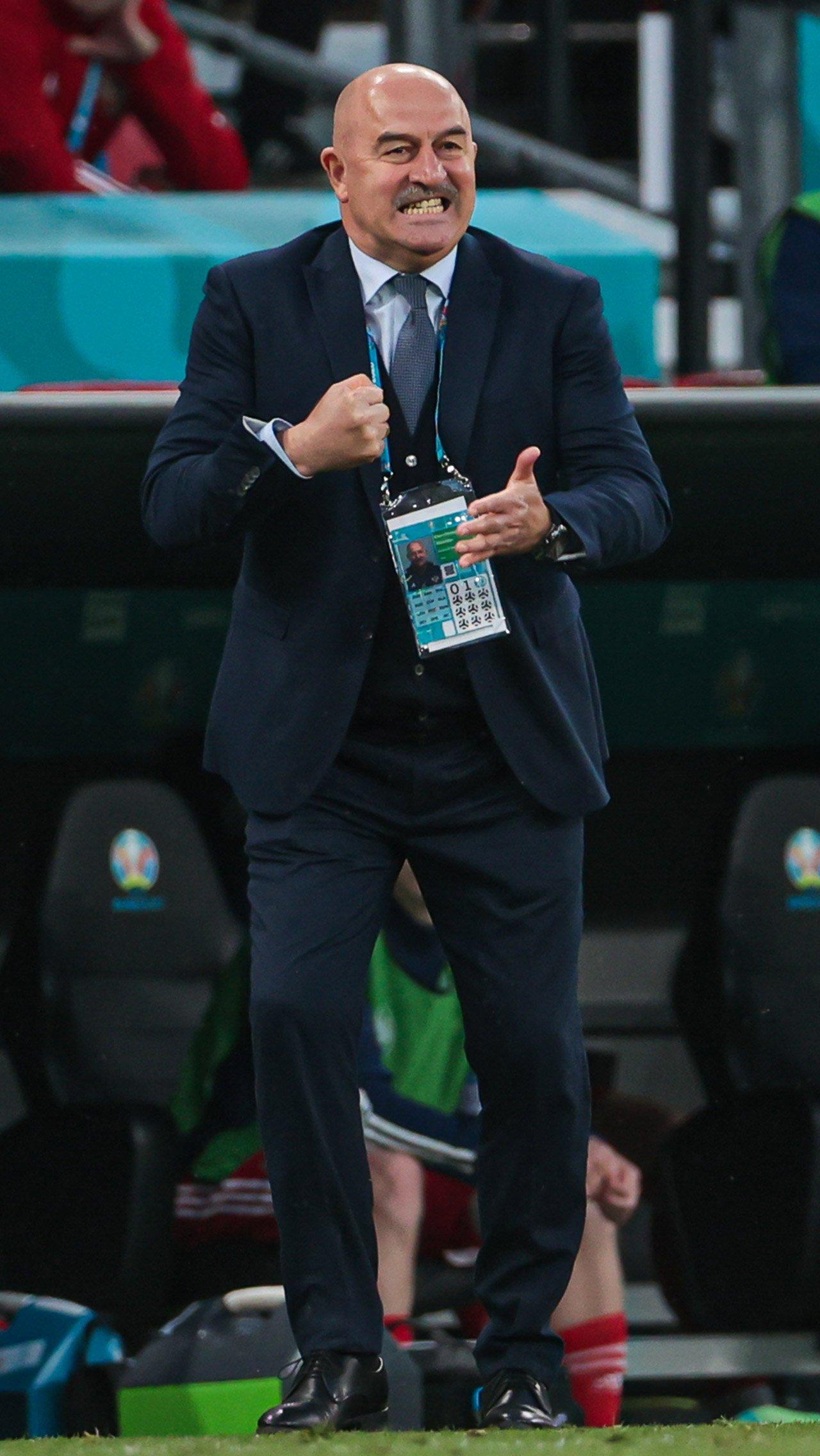 Черчесов Евро-2020: <br/> «Всем болельщикам привет. Переживаем».<br/>