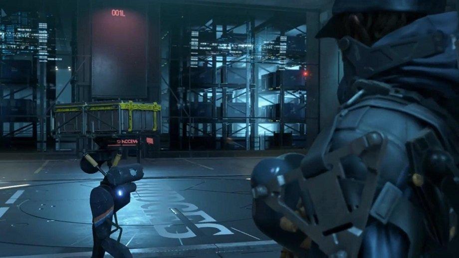Робот-помощник из Death Stranding