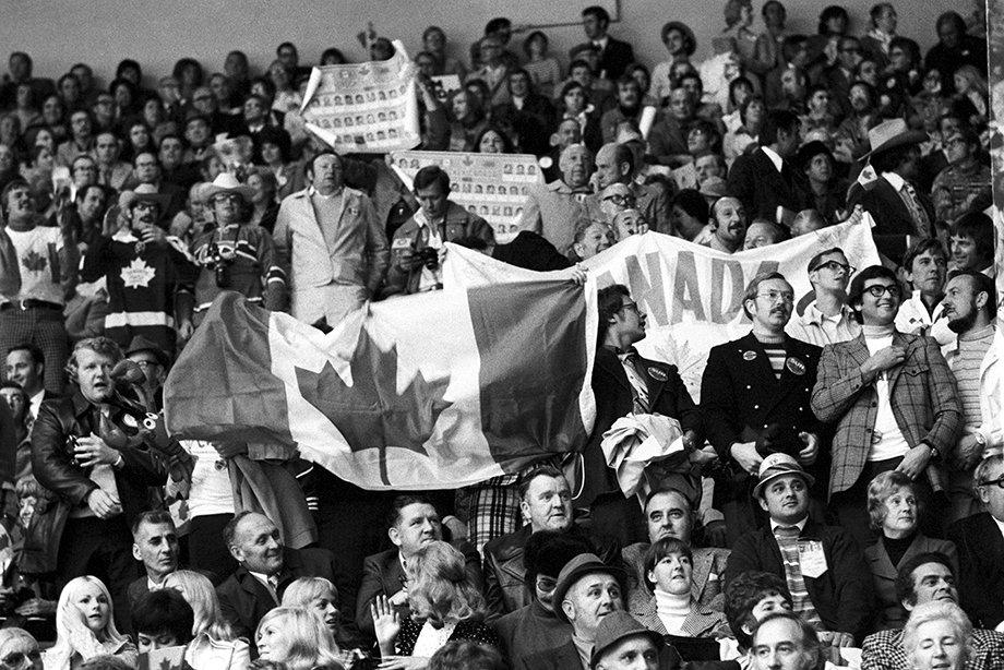 Как сборная СССР обыграла Канаду в пятом матче Суперсерии, первая игра Суперсерии-1972 в СССР