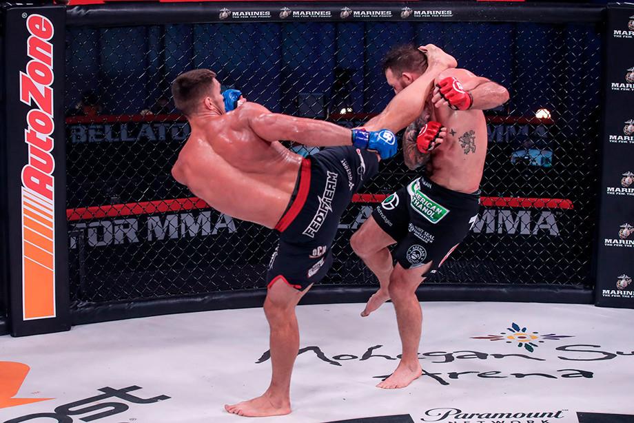 Вадим Немков нокаутировал Райана Бейдера, отомстил за Фёдора Емельяненко и стал чемпионом Bellator