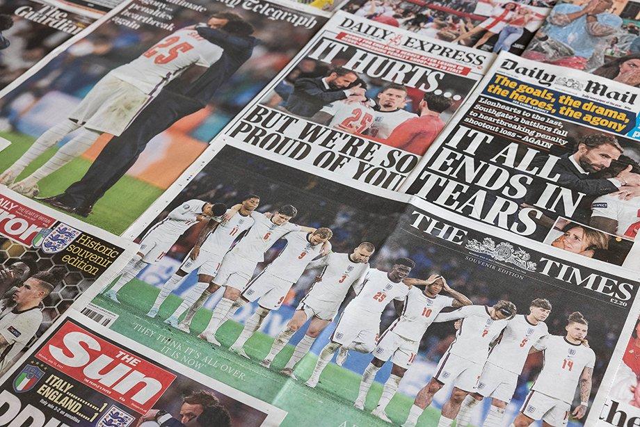 «Англичане проснулись с опухшими от слёз глазами». Что пишут в Европе о триумфе Италии
