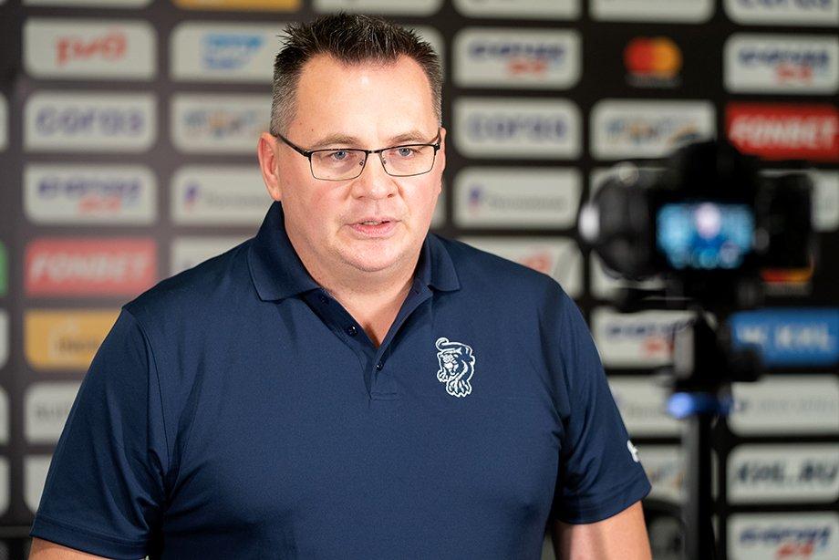 Первая пресс-конференция Андрея Назарова в качестве главного тренера ХК «Сочи», Панарин