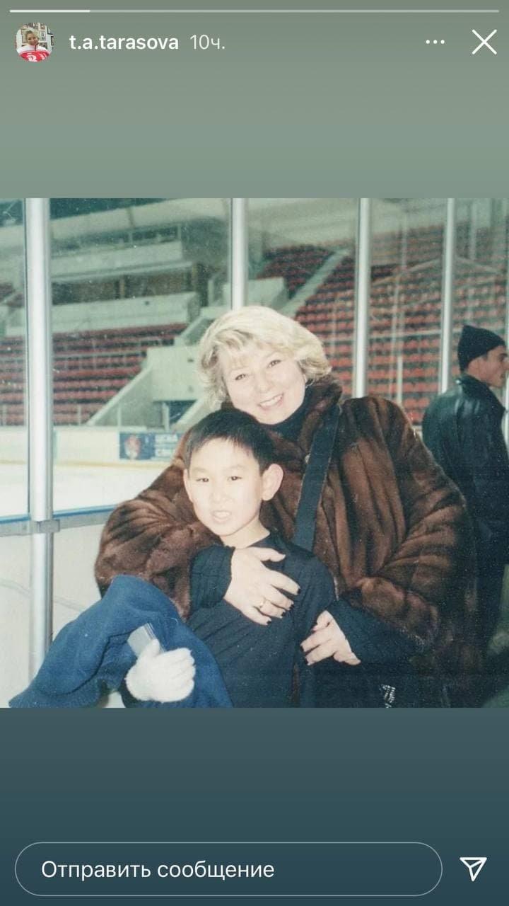 Татьяна Тарасова почтила память погибшего фигуриста Дениса Тена