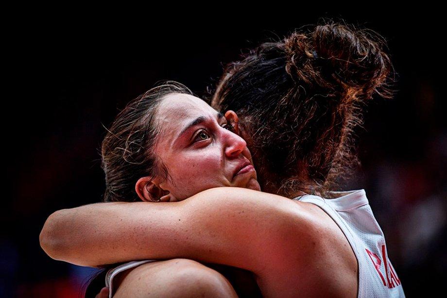 Женская сборная России обыграла Испанию на Евробаскете и получила путёвку в квалификацию чемпионата мира
