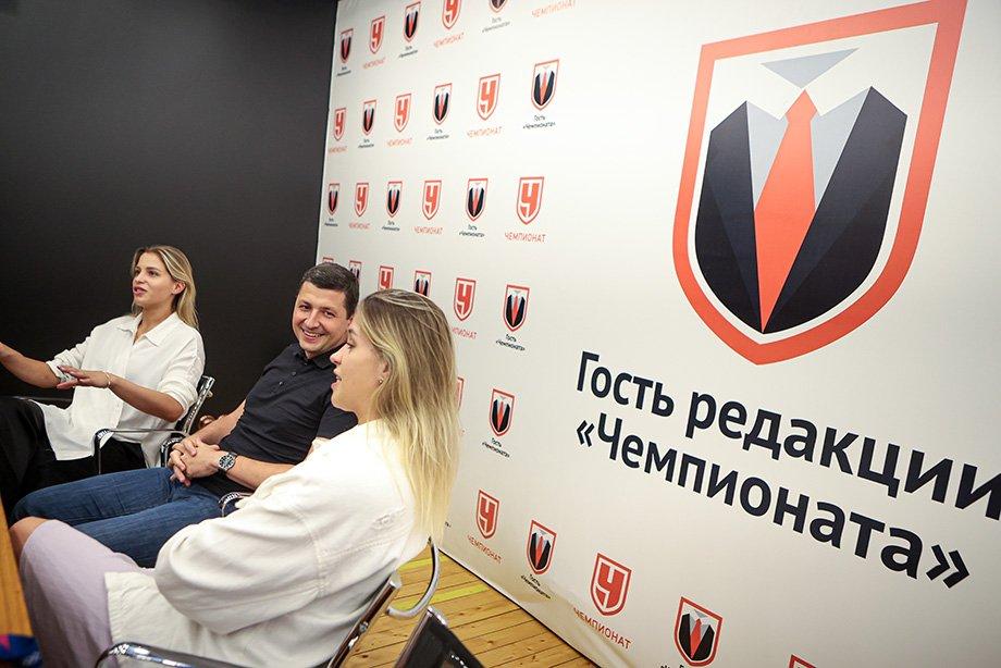Ольга и Евгения Фролкины, Игорь Кочарян — гости редакции «Чемпионата», эксклюзивное интервью