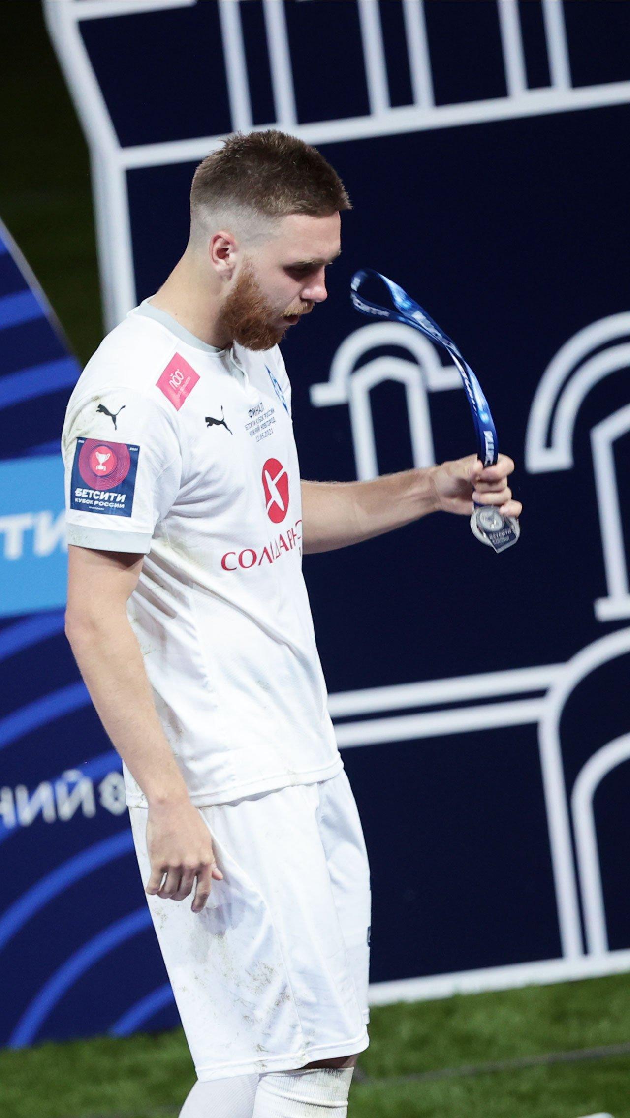Звезда «Крыльев» Иван Сергеев не сдерживал эмоций после поражения.