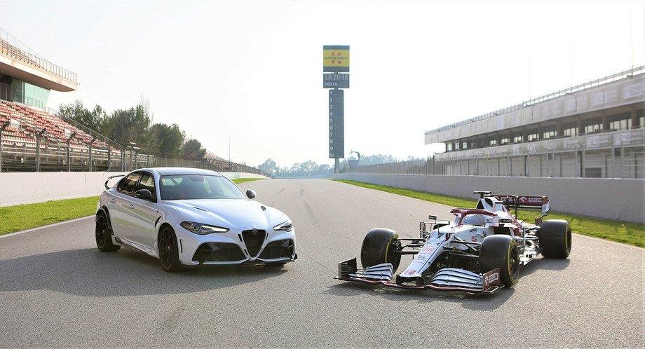 Экстремальный седан от «Альфа Ромео»: его помогли создать Райкконен и команда Формулы-1