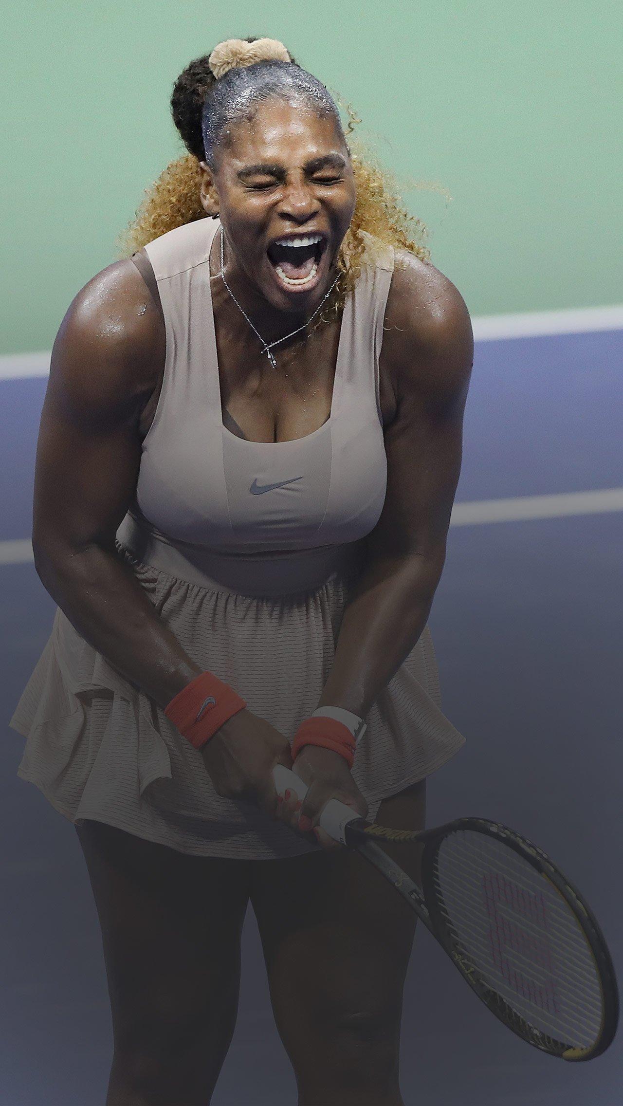 Истерика, угрозы, разборки с судьями: скандалы Серены на US Open