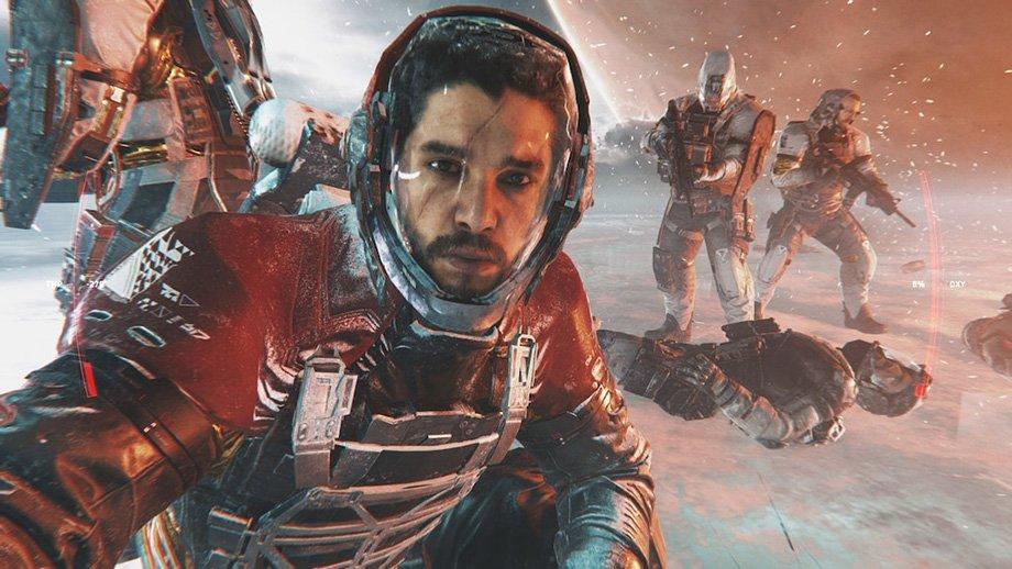 Кит Харингтон в Call of Duty: Infinite Warfare