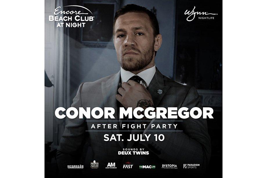 Макгрегор снял клуб в Вегасе, чтобы устроить вечеринку после боя с Порье на UFC 264