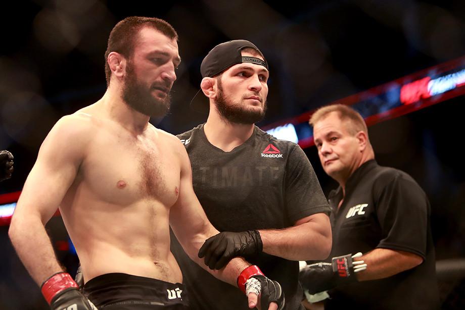 Эксклюзивное интервью с Абубакаром Нурмагомедовым перед UFC 260 28 марта 2021