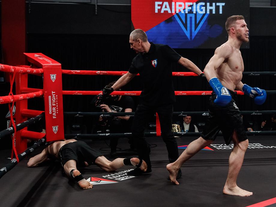 Арби Чеченский Конор Эмиев нокаутировал Никиту Кондратова на 14-м турнире по правилам Fair Fight, видео