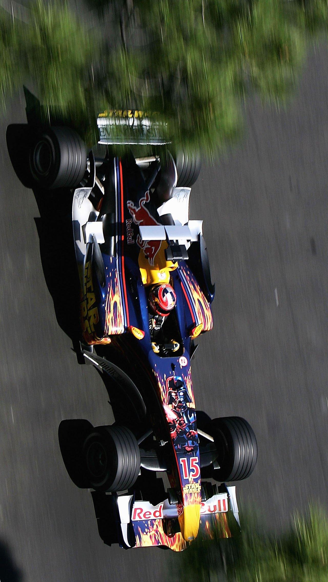 Гран-при Монако — 2005 памятен коллаборацией «Ред Булл» со «Звёздными войнами».