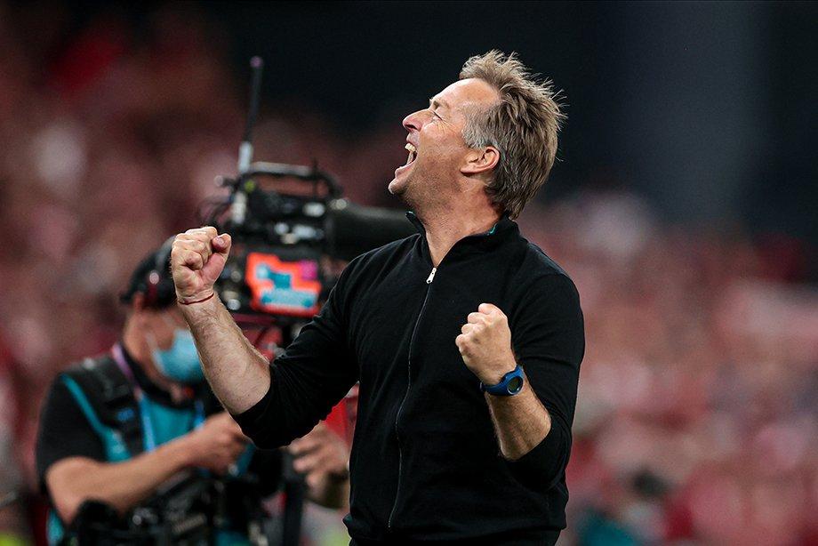 Тренер сборной Дании — открытие Евро. А ведь Юльманна вообще могло не быть на турнире