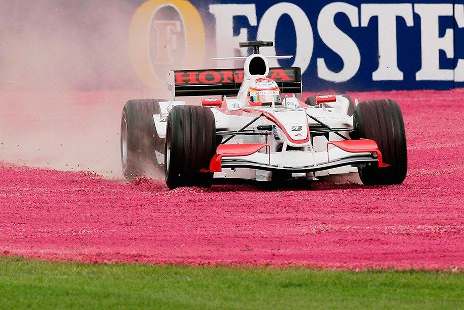 Очередной вылет Идэ на Гран-при Австралии