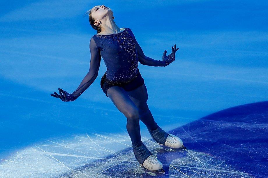 С какой программой фигуристка Камила Валиева поедет на Олимпиаду — успех «Девочки на шаре», высокая оценка Тутберидзе