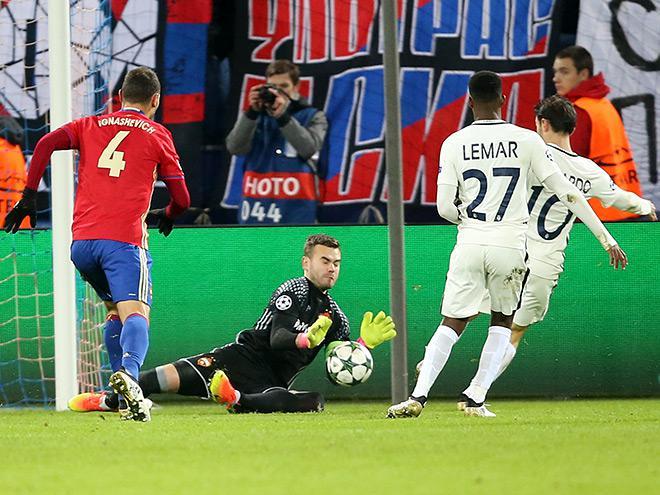 ЦСКА – «Монако» – 1:1