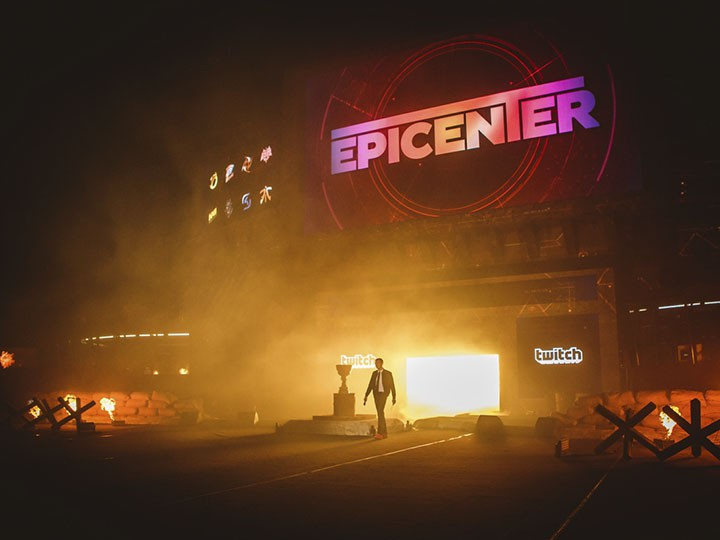 Репортаж с турнира Epicenter: Moscow