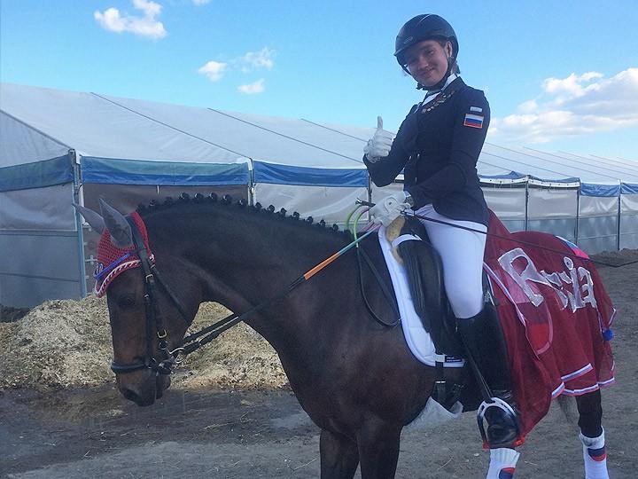 История самой опытной всадницы в российском пони-спорте