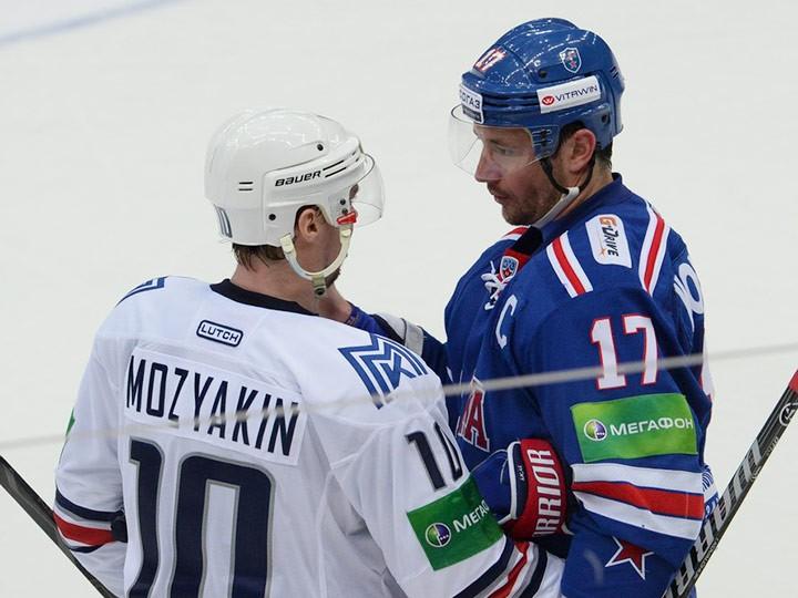 Сергей Мозякин и Илья КОвальчук